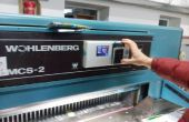 En utilisant Arduino dans l'industrie (sur la Machine à papier Guillotine)