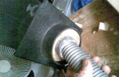 Dépoussiérage de machines-outils à la poussière extracteur