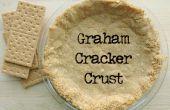 Croûte de biscuits Graham