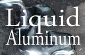 Fonte d'aluminium avec un trou dans le sol
