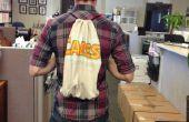 Aucun-cousez T-Shirt Drawstring sac à dos
