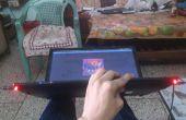 Ordinateur portable mod avec les réactifs del musique
