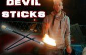 Fire Devil Sticks - Make, Play, Burn !