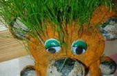 Tigre mignon herbe à faire avec vos enfants