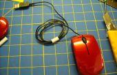 Range-cordon souris ordinateur portable