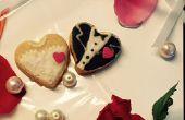 Personnalisé des cookies Groom n de faveurs de mariage-mariée