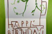 Carte d'anniversaire Chibitronics