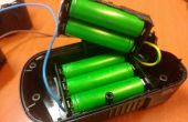 Convertir un noir & decker batterie de perceuse sans fil lithium-ion