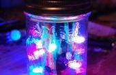 Lumière LED Disco dans un bocal !
