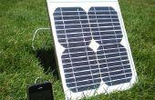 Comment j'ai construit un chargeur solaire pour iPhone pour moins de 50 $.
