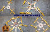 Multicopter modulaire, Quads, Hex, Oct, Y4, Y6, OCT X 4, jusqu'à 16 moteurs !