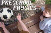 Physique préscolaire : D'avoir une boule avec des livres