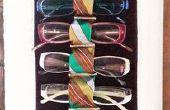 Support pour un collectionneur de verres des lunettes