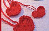 Crochet simple coeur