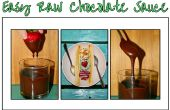 Sauce au chocolat crue facile
