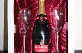 Verre de Swarovski champagne