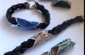 Comment faire un bracelet tube intérieur avec des couleurs interchangeables