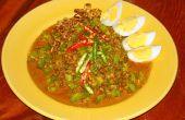 Salade thaï le pois (Yum Tua Ploo)