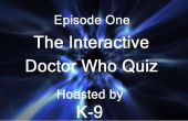Quiz informatique interactive Doctor Who.