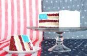 Gâteau de drapeau américain