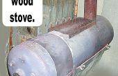Convertir une eau chaude Chauffage dans un poêle à bois