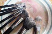 Comment bien se laver les pinceaux de maquillage avec appareils ménagers quotidiens