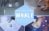 Tutoriel vidéo de baleine - époxy - bleuet