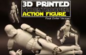3D imprimées figurine StormTrooper ! (Articulation réaliste)