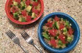 Réchauffer le Quinoa avocat salade d'agrumes