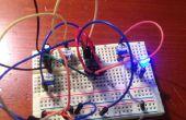 555 timer : clignotant LED