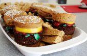 Petits gâteaux sucrés Burger et des frites !