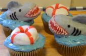 Requin attaque Cupcakes