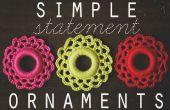 Simple déclaration ornements