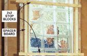 Comment faire pour installer une fenêtre de bloc de verre