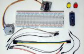 Arduino Nano et Visuino : moteur pas à pas avec des boutons de contrôle