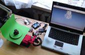 Nous allons faire cuire : scanner 3D basé sur l'Arduino et traitement