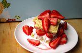 Shortcake aux fraises facile vegan