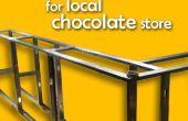 Comptoir pour magasin de chocolat