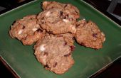 Chocolat blanc et canneberges Cookies