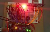 Détecteur de distance avec compteur LED et Buzzer.