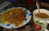 Un petit déjeuner le matin avec alby