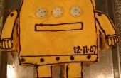 Gâteau Robot Instrucable