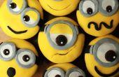 Banane Minion Cupcakes