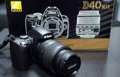 Comment fixer « Presse Shutter Release bouton Again » erreur sur un DSLR Nikon.