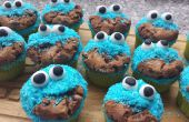 Facile de Cookie Monster Cupcakes