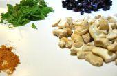 Curry aux canneberges et beurre de noix de cajou Mint