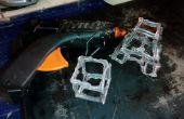 Griffonnages 3d DIY avec de la colle chaude