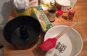 Gâteaux fait maison avec crème pâtissière & crème fouettée