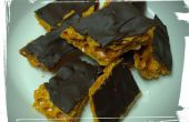 Enrobées de chocolat en nid d'abeille Candy