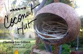 Cabane de la noix de coco | Une maison pour oiseaux & créatures